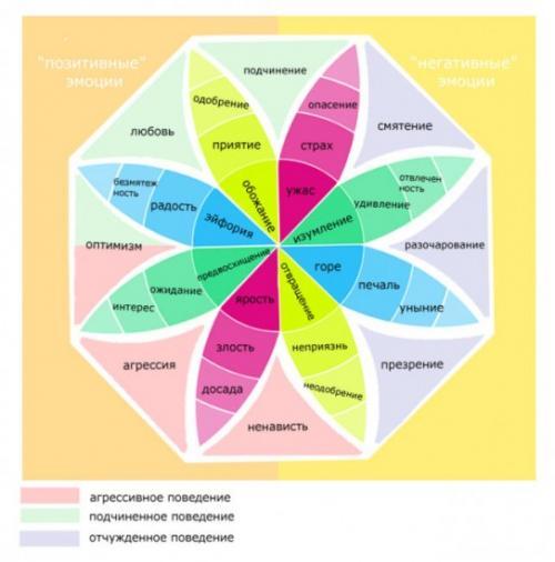 Колесо эмоций Роберта Плутчика, как пользоваться. Колесо эмоций