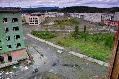Мертвый город. Мертвые города-призраки России
