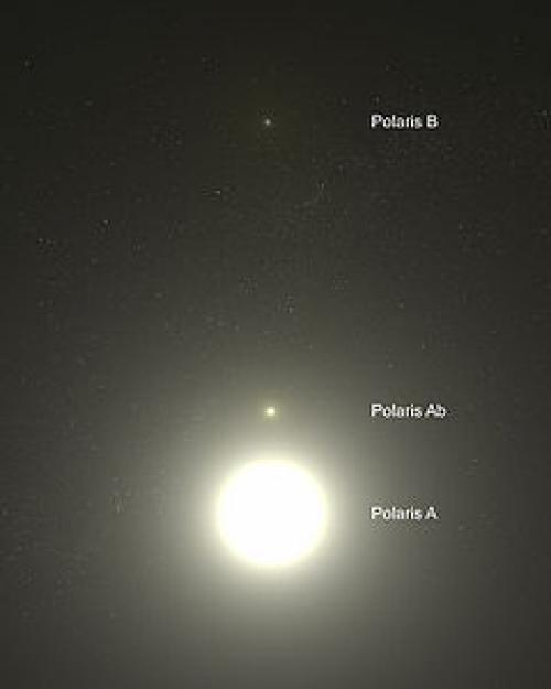 Что такое Полярная звезда определение. Описание