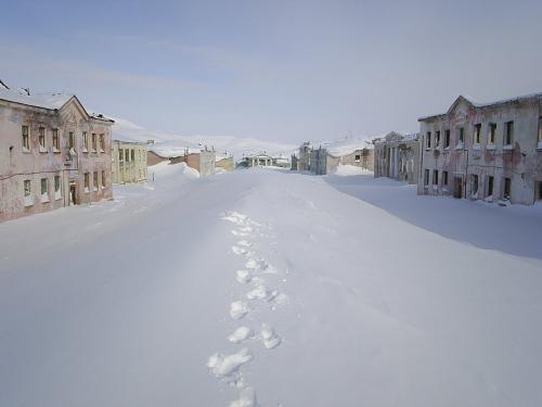 Города-призраки России мертвые города. Иультин - вымерший город на Чукотке
