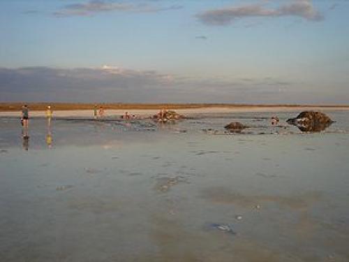 История озера Эльтон. История