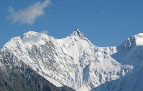 Гора Белуха на карте. Где находится Белуха? Координаты, карта и фото.