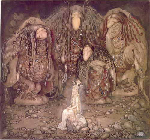 Образ тролля в скандинавской мифологии. Скадинавские тролли в фольклоре и литературе