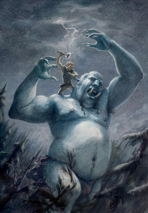 Тролли и мосты мифология. Тролли в мифологии