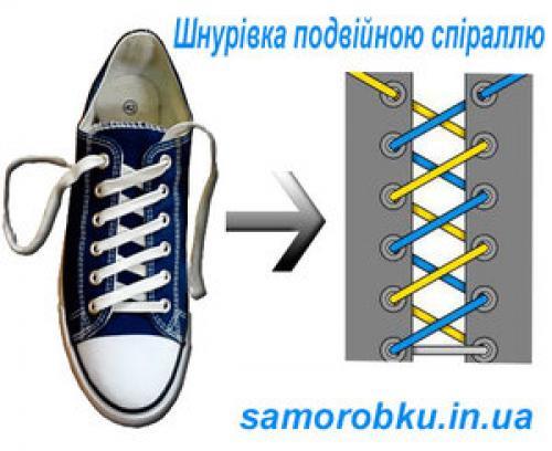 Как завязать красиво шнурки. Способы завязывания шнурков