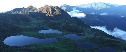 Самое высокое озеро в мире над уровнем. Самые высокогорные озера мира