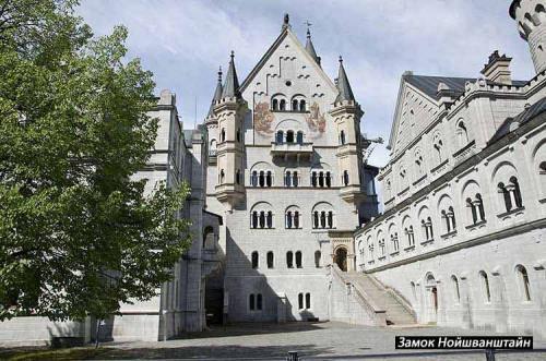 Замок Нойшванштайн в Германии история. История создания Замка Нойшванштайн