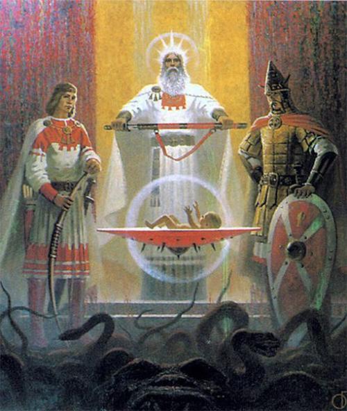 Старославянские имена и их значения.