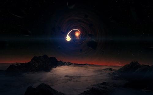 Куда ведут космические чёрные дыры