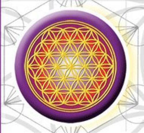 Цветок жизни - сакральная геометрия.