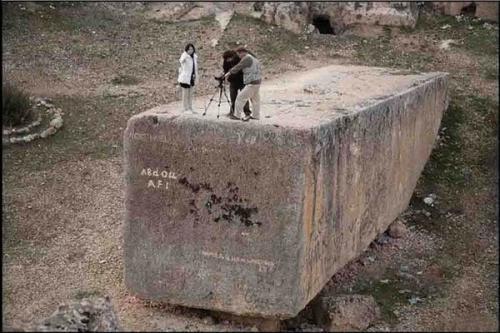 Что было 5000 лет назад. 5000 лет назад кто-то сделал эти 1200 тонные блоки ….