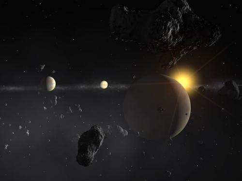 Почему высокая температура на Венере. - На поверхности Венеры днём температура достигает 430 градусов по цельсию.