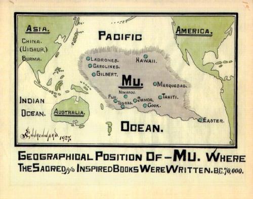 Пацифида (континент му). | Наука для всех простыми словами