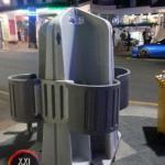 Вот такой необычный уличный мужской туалет появляется в разных городах стран Запада.