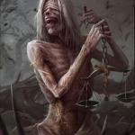 Четыре всадника апокалипсиса: голод, чума, война, смерть.