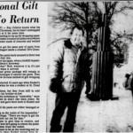 В далеком 1964 году мать фермера Ларри канкла подарила сыну на рождество довольно нужную вещь - хорошие рабочие штаны.