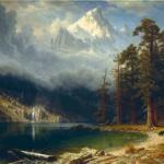 Альберт бирштадт - один из наиболее известных американских пейзажистов XIX века, представитель дюссельдорфской художественной школы.