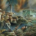 Тайна исчезновения британских солдат норфолкского полка.