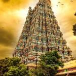 """""""Летающие"""" дворцы индуистских храмов."""
