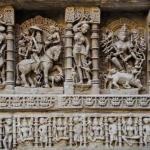 Архитектурное чудо Индии - древний колодец рани -ки- вав.