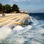 """Послушайте этот 70-метровый """"Морской Орган"""", использующий ветер и волны для создания звуков."""