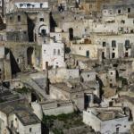 Древний каменный город в Италии.