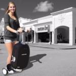 Olive - роботизированный интеллектуальный чемодан, на котором можно ездить, как на сигвее.
