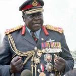 Сумасшедший диктатор.  Дада уме иди Амин - президент Уганды в 1971-1979 годах, создатель одного из самых жестоких тоталитарных режимов в Африке.