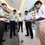 Сингапур вооружится роботами - пауками.