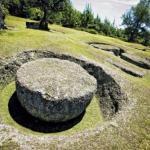 Латте - стоуны острова великанов тиниан (Tinian).