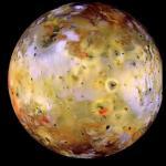 Так выглядит Ио - спутник Юпитера.