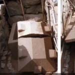 В Японии обнаружили древний саркофаг с необычной крышкой.