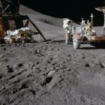 Фотографии с миссии аполло 15 31 июля 1971 года.