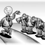 Общая черта всего авторитарного мышления состоит в убеждении, что жизнь определяется силами, лежащими вне человека, вне его интересов и желаний.