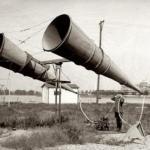 Средства звукового наблюдения времен первой мировой войны.