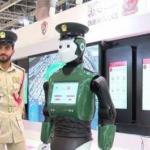В Дубае презентовали прототип робота - полицейского.