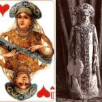Знаете, кто скрывался за рисунками на популярной в Ссcр колоде карт?