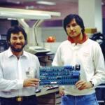Первый компьютер компании Apple, начал продаваться в 1976 году по цене $666, таких компьютеров было сделано 200 штук в гараже.