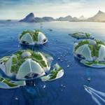 Aequorea - футуристические конструкции под водой.