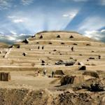 Пирамиды кауачи.  Кауачи (Cahuachi) - это церемониальный центр культуры Наска в перу.