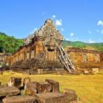 Храмовый комплекс ват пху (VAT Phou), тямпасак, Лаос.
