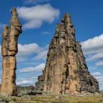 Гранитный природный город якутии.