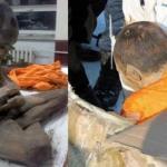 """Ученые найшли 600-летнего мумифицированного монгольского монаха в """"Глубокой Медитации"""", невероятно, но у него в руке был."""