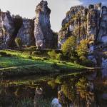 Святилище экстернштайне - магическая сила древних скал.