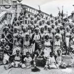 Дагомейские Амазонки.  Составляли женские полки армии королевства дагомея (Бенин.