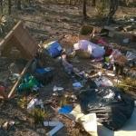 Австралиец вернул правонарушителю весь мусор, который тот выбросил за городом.