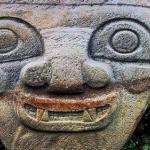 Загадочные статуи долины сан - Агустин.