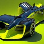 Организаторы гонок беспилотных автомобилей Roborace впервые продемонстрировали дизайн машин (фото видео).