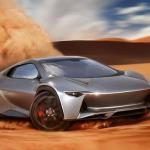 Camal Ramusa: концептуальный суперкар с гибридным полным приводом.