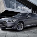 Genesis G90: первый автомобиль под новым брендом Hyundai.